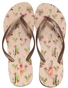 American Eagle Outfitters Cream Sandals
