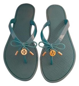 Tory Burch Thong Jelly blue Sandals