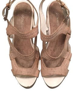 Donald J. Pliner Tan Wedges