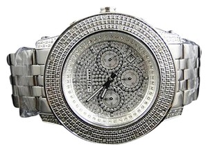Other Mens Jojinojoe Rodeo Aqua Master Metal Band 25 Diamond Watch Mj-8045