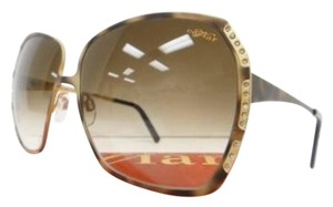 Caviar Eyewear CAVIAR 5003 SUNGLASSES BROWN CRYSTAL STONES AUTHENTIC NEW