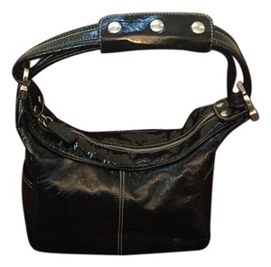 Tod's Patent Leather Leather Handbag Shoulder Bag