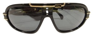 Cazal CAZAL 8018 SUNGLASSES BLACK GOLD (001) AUTHENTIC NEW
