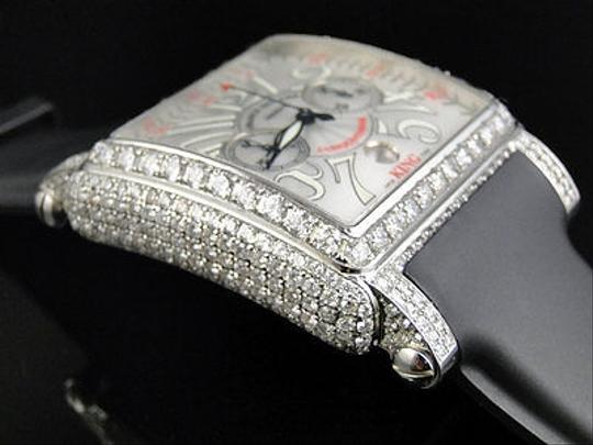 Franck Muller Mens Franck Muller King Conquistador Cortez Iced Out Diamond Watch 16.65 Ct Image 5
