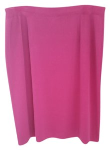 Misook Plus-size Pencil Skirt Pink