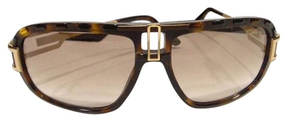 Cazal Brown Gold 8014 003 New Sunglasses Tradesy