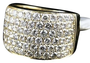 14k,Mens,Ladies,Round,Diamond,Wedding,Band,Pinky,Ring