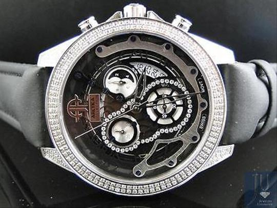Other Mens Arctica Genuine Full Diamond Unique Skeleton Style Dial Watch 2.10 Ct