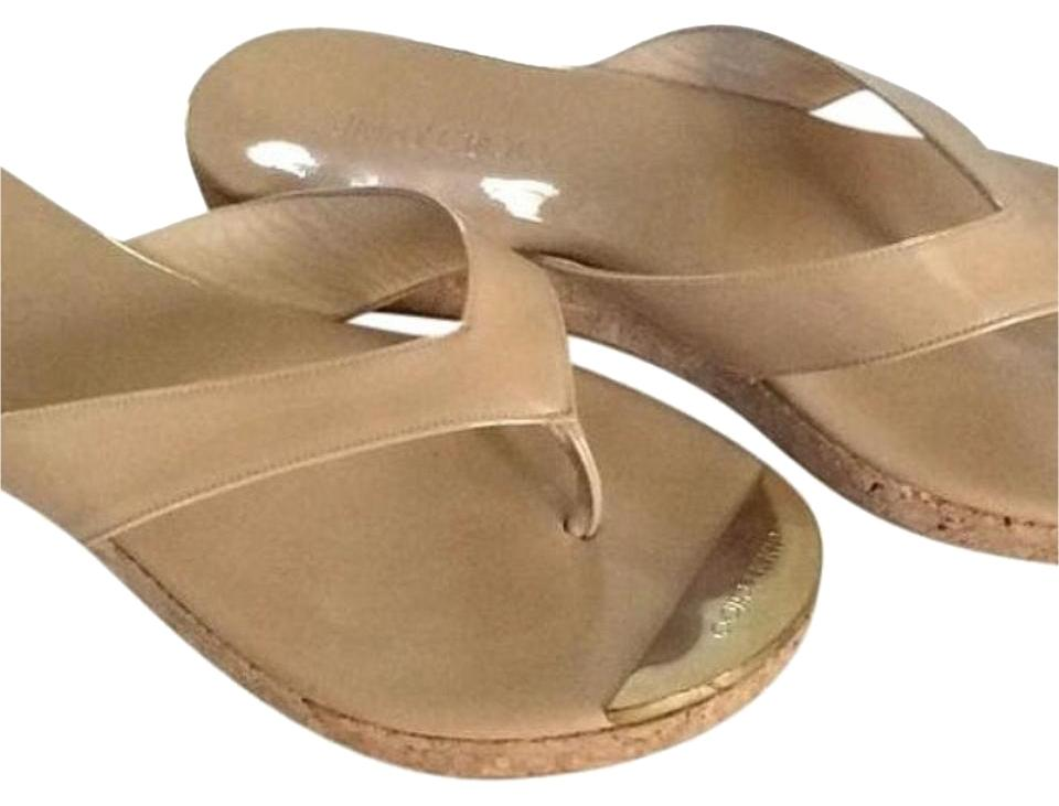 lady Jimmy so Choo Nude/Tan Sandals Not so Jimmy expensive f71e0b