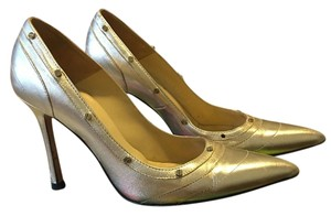 Versace Gold Pumps