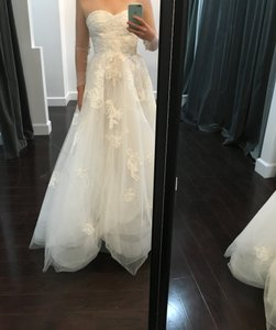 Monique Lhuillier Elsa Strapless Gown Wedding Dress