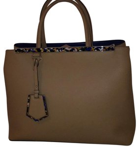 Fendi Satchel in Nude and Blue