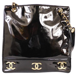 Chanel Classic Vintage Tote in Black
