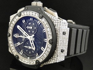 Hublot Mens Hublot Big Bang King Power Reserve Diamond Watch Ct
