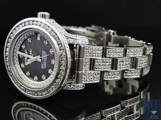 Breitling Ladies Custom Aeromarine Colt Diamond Watch A77387 13.5 Ct Image 2