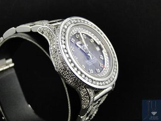 Breitling Ladies Custom Aeromarine Colt Diamond Watch A77387 13.5 Ct Image 3