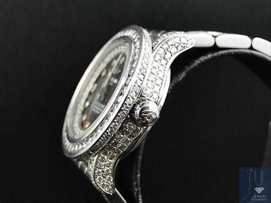 Breitling Ladies Custom Aeromarine Colt Diamond Watch A77387 13.5 Ct Image 7