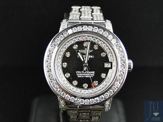 Breitling Ladies Custom Aeromarine Colt Diamond Watch A77387 13.5 Ct Image 8