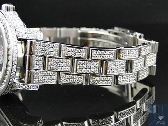 Breitling Ladies Custom Aeromarine Colt Diamond Watch A77387 13.5 Ct Image 9