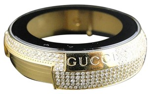 Gucci Mens Gucci Gold Steel Diamond Case For I Gucci Digital Watch Ct Ya114 Models