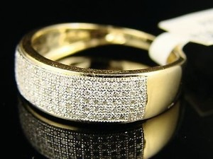 With Diamonds Women's Wedding Band
