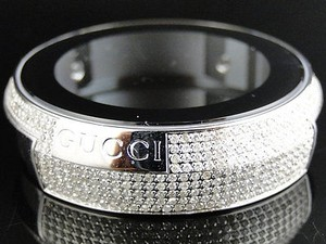 Gucci Custom Mens Gucci Diamond Case For Gucci Digital Watch