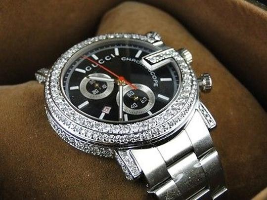 Preload https://item1.tradesy.com/images/ct-custom-g-watch-mens-diamond-gucci-ya101334-ct-sides-1881200-0-0.jpg?width=440&height=440