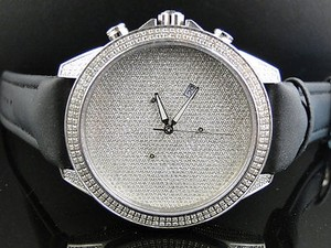 Mens Arctica Glory Genuine Full Diamond Illusion Dial Watch Ct