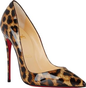 Christian Louboutin Sexy Stunning Brown and black Pumps