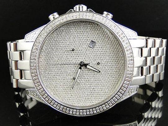 Other Mens Arctica Glory Genuine Full Diamond Illusion Dial Watch 2.2 Ct Image 0