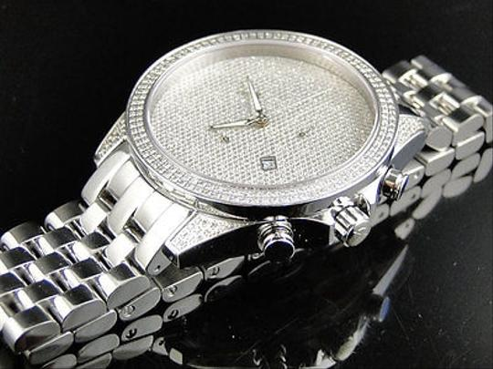Other Mens Arctica Glory Genuine Full Diamond Illusion Dial Watch 2.2 Ct Image 1