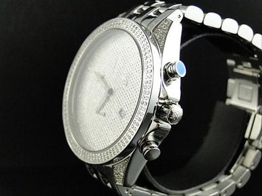 Other Mens Arctica Glory Genuine Full Diamond Illusion Dial Watch 2.2 Ct Image 2