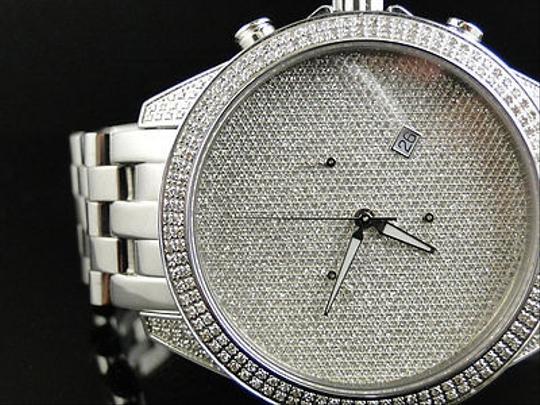 Other Mens Arctica Glory Genuine Full Diamond Illusion Dial Watch 2.2 Ct Image 3