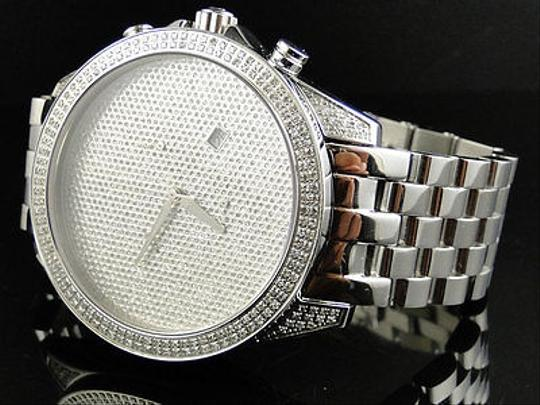 Other Mens Arctica Glory Genuine Full Diamond Illusion Dial Watch 2.2 Ct