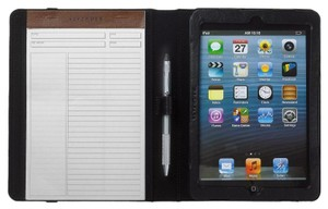 Levenger Levenger Work and Play iPad Folio - Leather