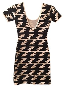 American Apparel Bodycon Printed Mini Stretchy Dress