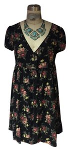 Ralph Lauren short dress Ditsy Floral Denim And Supply Empire Waist Baby Doll on Tradesy