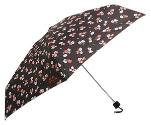 Coach COACH F65333 LOCK UP MINI UMBRELLA FLORAL MULTICOLOR NWT