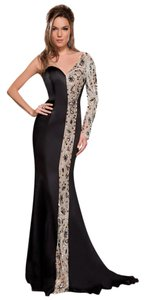 MNM Couture Glam Evening Ball Gown Gown Luxury Dress