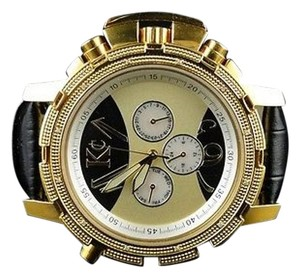 Other Mens Techno Com Kcjojojoe Rodeo Aqua Master Gold Diamond Watch