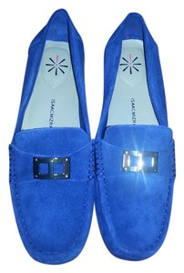 Isaac Mizrahi Live Loafers Royal blue Flats