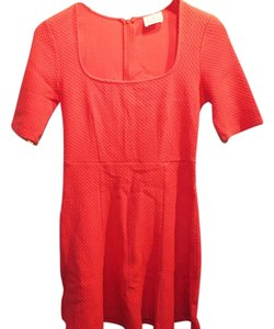 Pins and Needles short dress Coral A-line on Tradesy