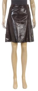 Marc Jacobs Mini Skirt Brown