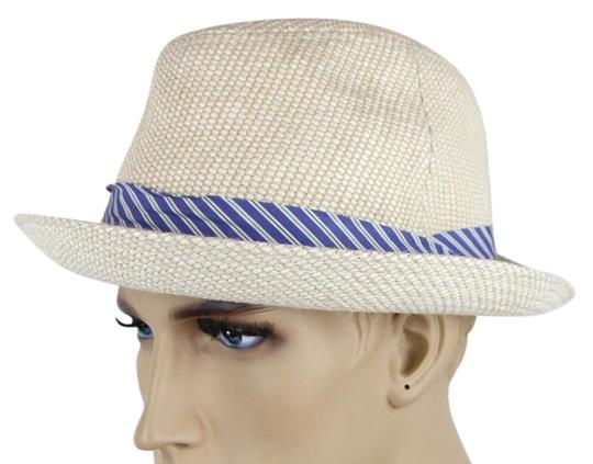 8a9e2d62 ... Gucci Straw Hat: Gucci White New Straw Fedora W/Ribbon And Logo Size M  ...