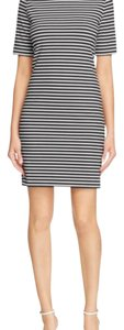 MICHAEL Michael Kors short dress Black and white stripes on Tradesy