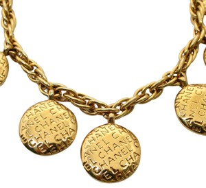 Chanel Authentic Vintage Chanel Reversible Gold plated necklace Choker Rare
