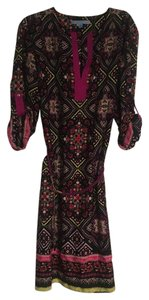 Antonio Melani short dress Black/Orchid (Exotic Escape) on Tradesy