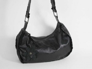 Nuovedive Leather Hobo Bag