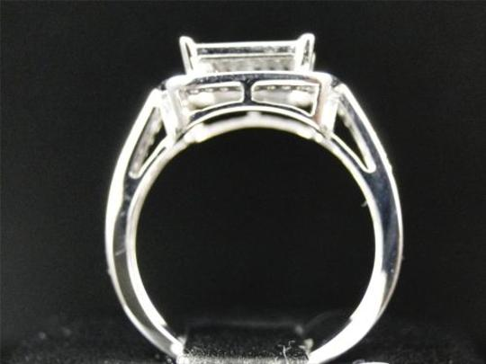 Other Ladies,10k,White,Gold,Pave,Diamond,Engagement,Wedding,Bridal,Fashion,Ring,.40,Ct