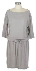 James Perse short dress taupe on Tradesy